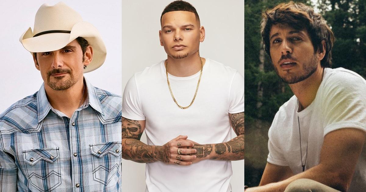 CMC Rocks Announces Headliners for 2022 – Brad Paisley, Kane Brown, Morgan Evans
