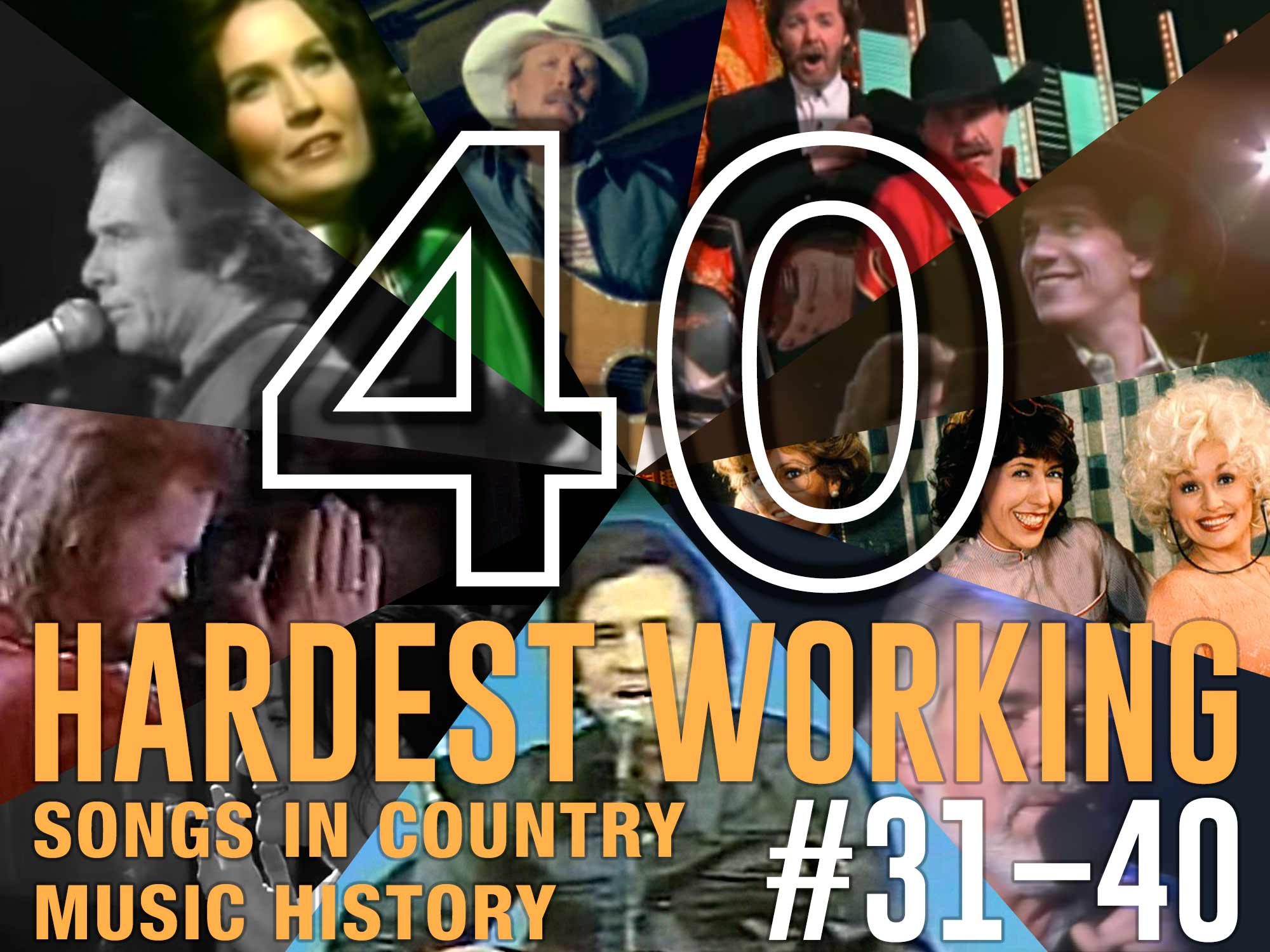 In Honor of Labor Day, the 40 Hardest Working Songs in Country Music History: #31–40