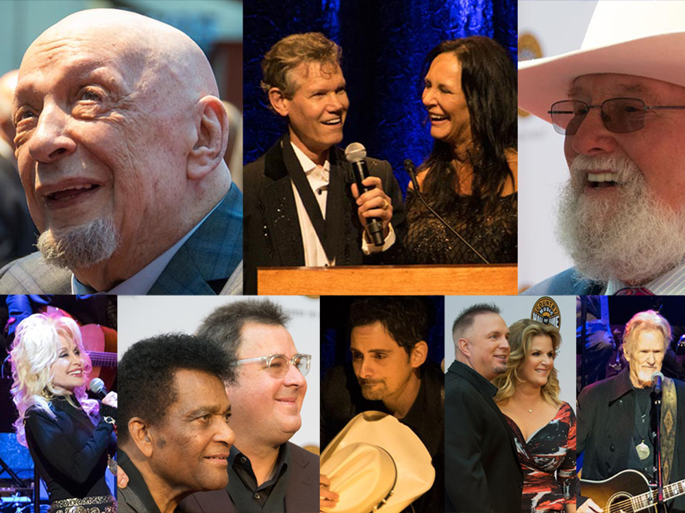 Photo Gallery: Randy Travis, Charlie Daniels and Fred Foster Inducted Into the Country Music Hall of Fame