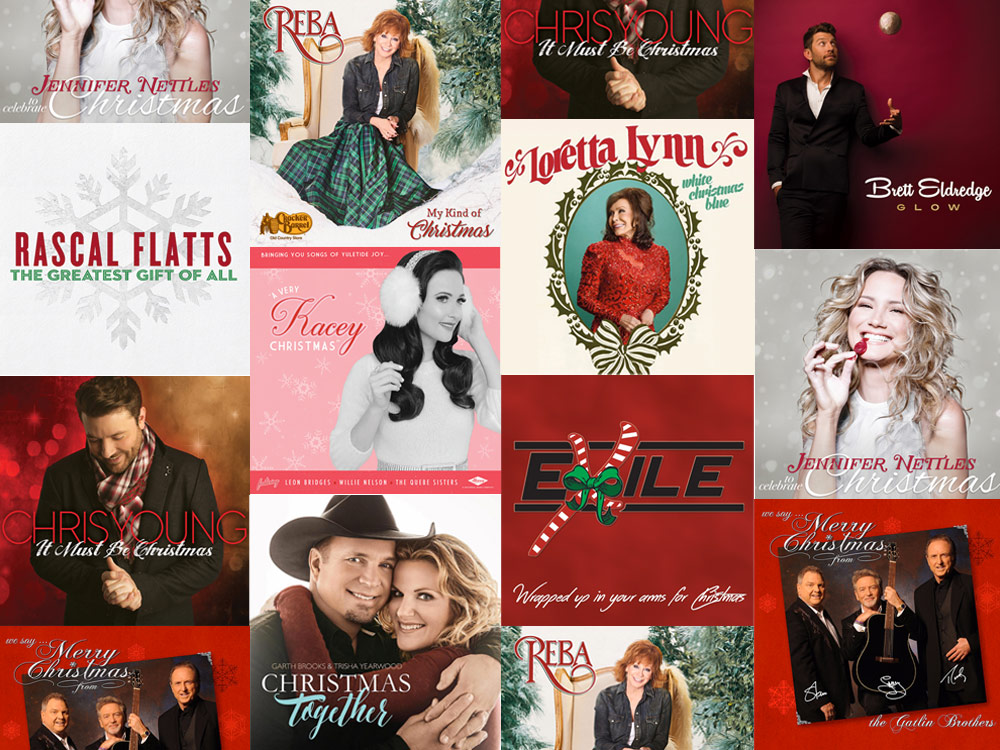 Christmas Is Coming: From Reba & Loretta to Garth & Trisha, Everything You Need to Know About This Year's 10 New Holiday Albums