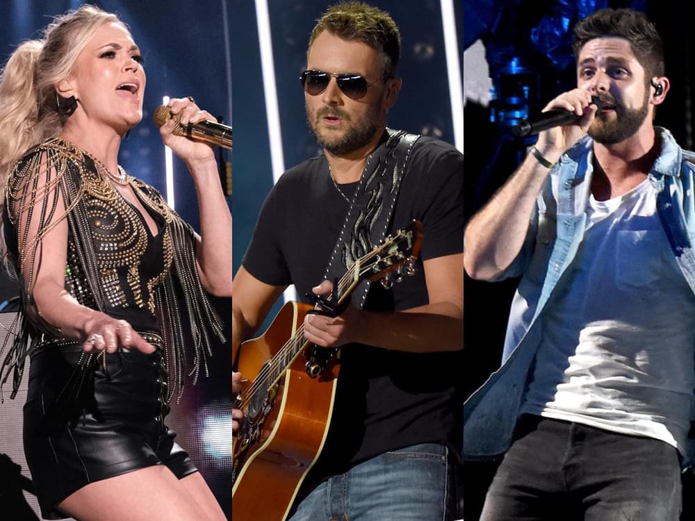 Carrie Underwood, Eric Church & Thomas Rhett to Headline 2020 Stagecoach Festival [+ Full Lineup]