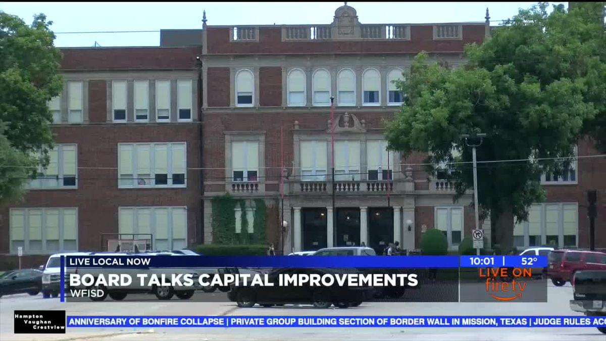 WFISD School Board Talks Capital Improvements