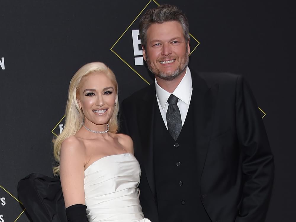 "Blake Shelton & Gwen Stefani's ""Nobody But You"" Hits No. 1 on Billboard Country Airplay Chart"