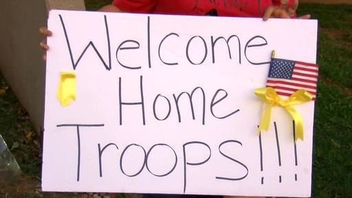 National Guard Soldiers Return To Wichita Falls After Deployment