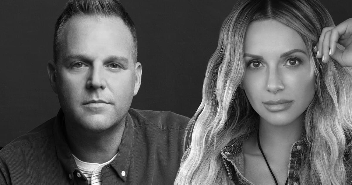 "Carly Pearce Joins Matthew West On His Number-1 Song ""Truth Be Told"""
