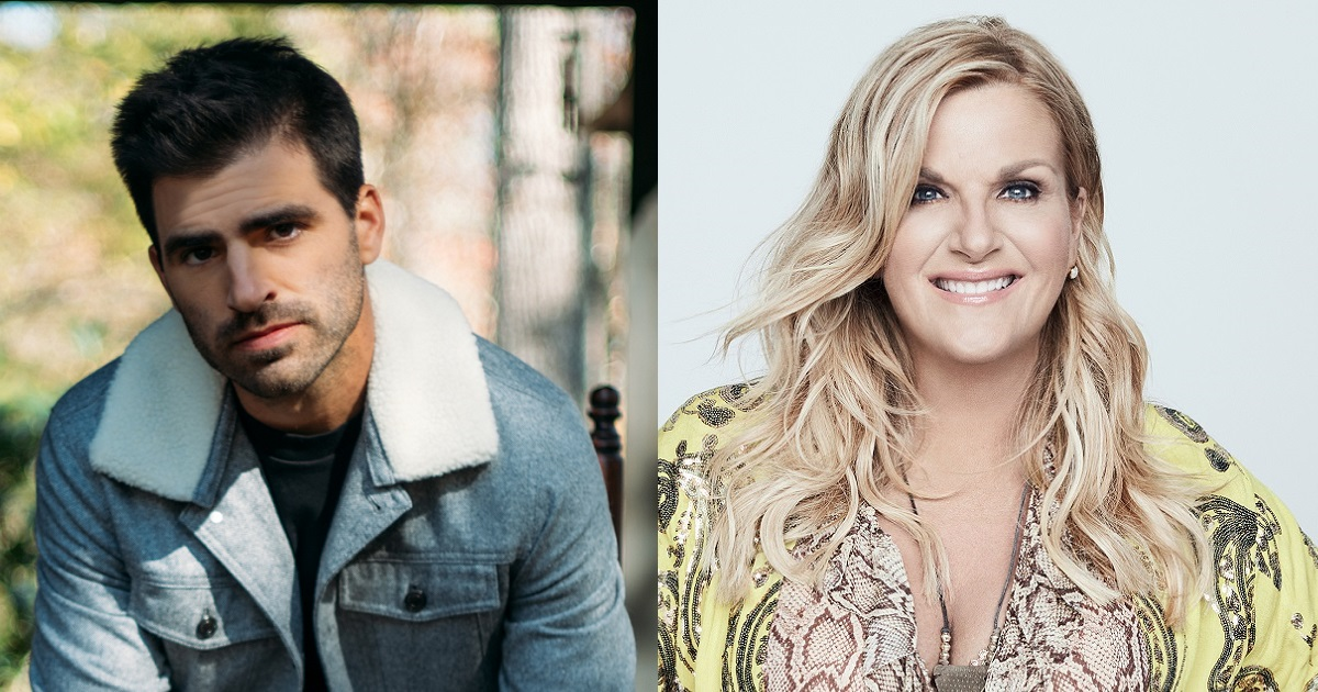 "Trisha Yearwood Joins Mitch Rossell on His Song ""Ran Into You"""