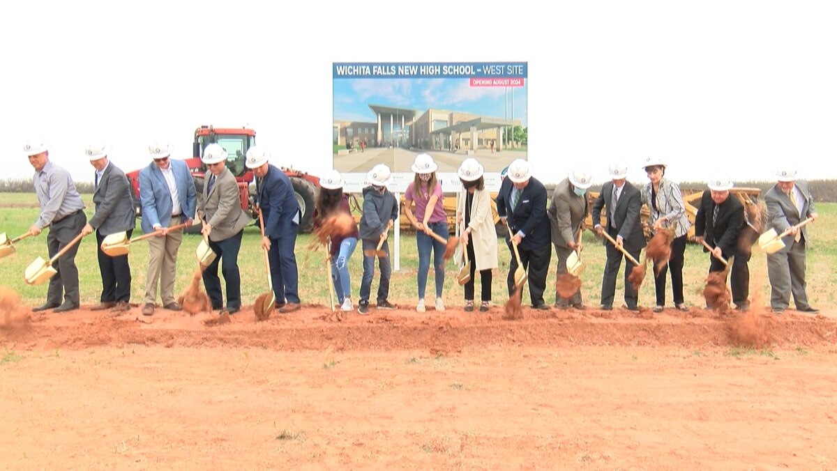 WFISD Officially Breaks Ground For New High Schools