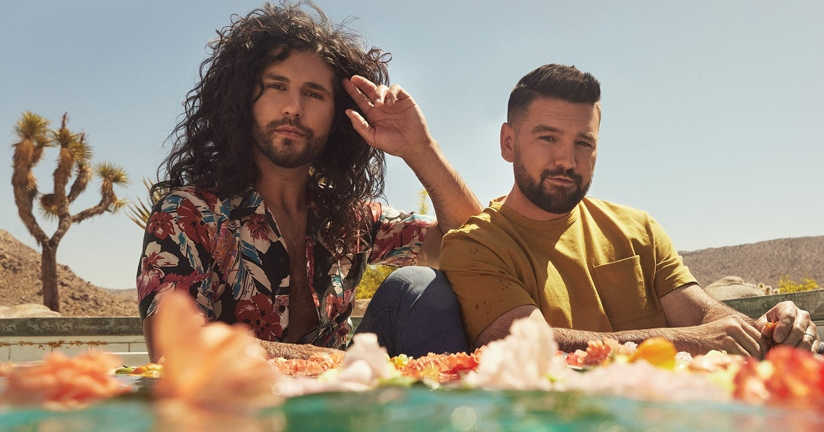"""Dan + Shay Have a Good Time On The Late Show Singing Their Song """"You"""""""