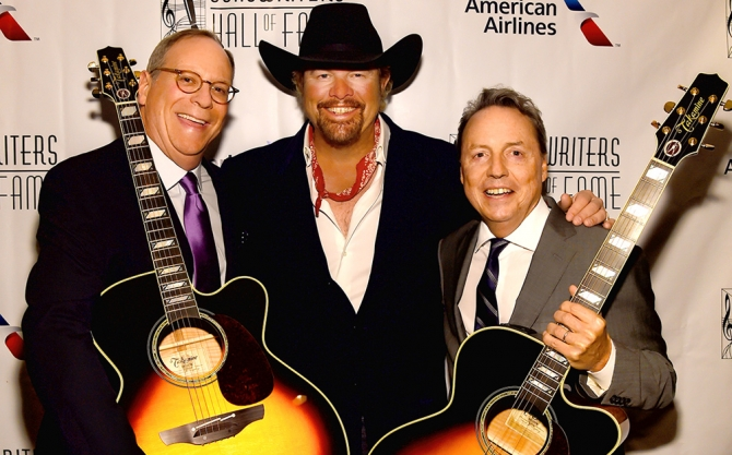 Toby Keith Inducted Into Songwriters Hall of Fame