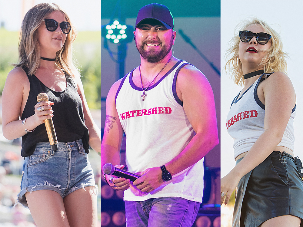 Watch Tyler Farr, Maren Morris, RaeLynn & More Talk Gator Meat, Ice Cream and Presidents at Watershed Festival