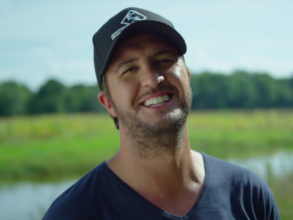 "Luke Bryan Gears Up for Farm Tour With New Video for ""Here's to the Farmer"""