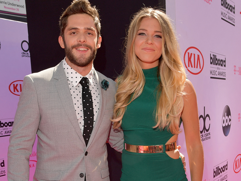 Thomas Rhett Counts on Wife Lauren for Honest Opinion About His Music