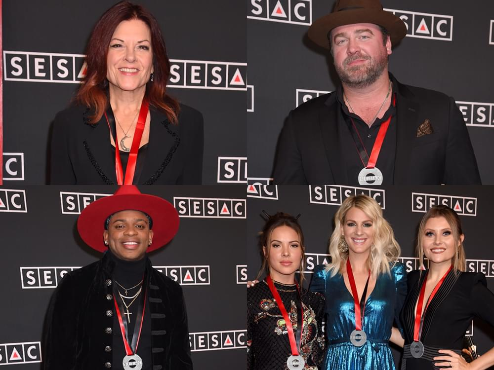 SESAC Music Awards With Runaway June, Rosanne Cash, Lee Brice, Jimmie Allen & More [Photo Gallery]