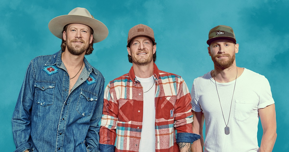Chase Rice & FGL Have a Decade of Drinkin', Talking', and Being Friends