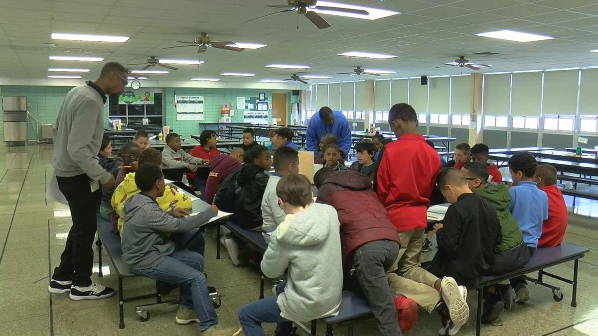 Booker T. Washington Men In Action Group Looking For Mentors