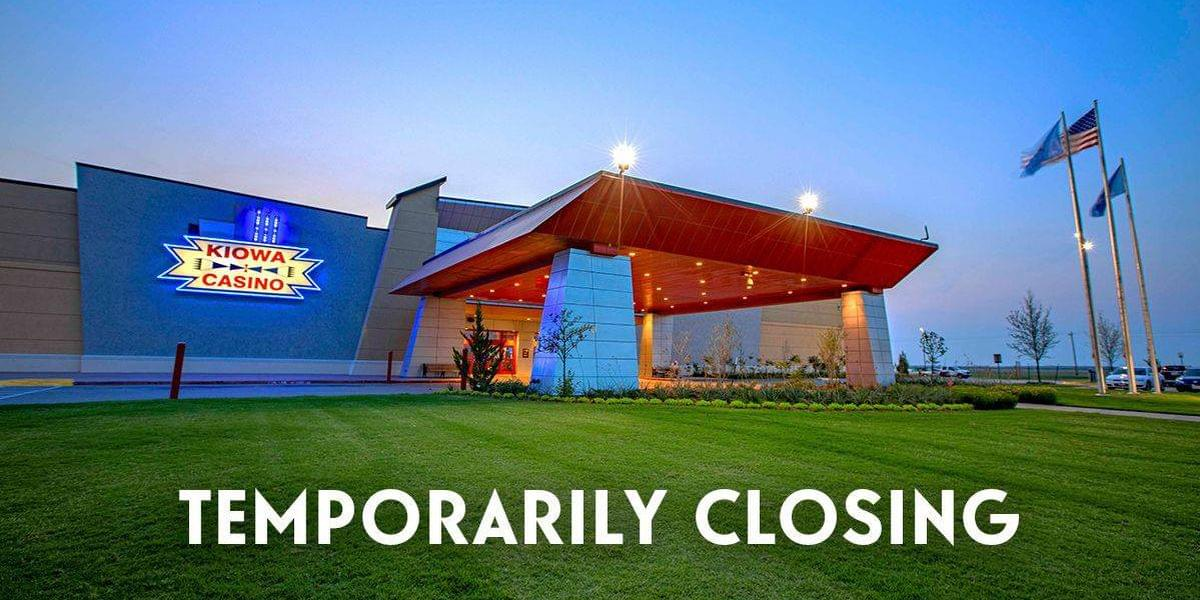 Kiowa Casino Closed Until Wednesday After Employee Tests Positive For COVID-19