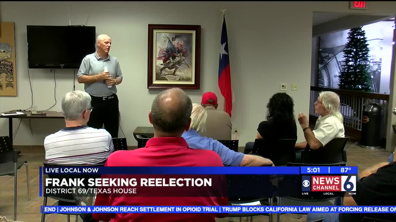 James Frank To Seek Reelection