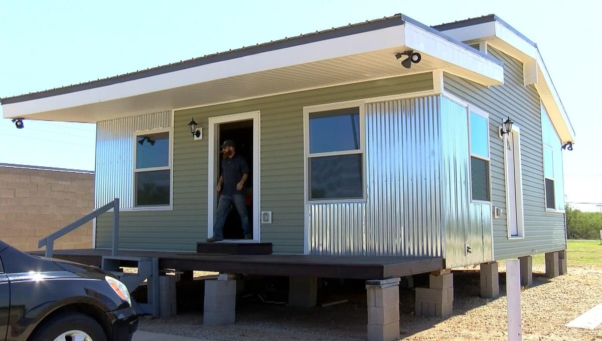 WFISD Tiny House Sells At Auction