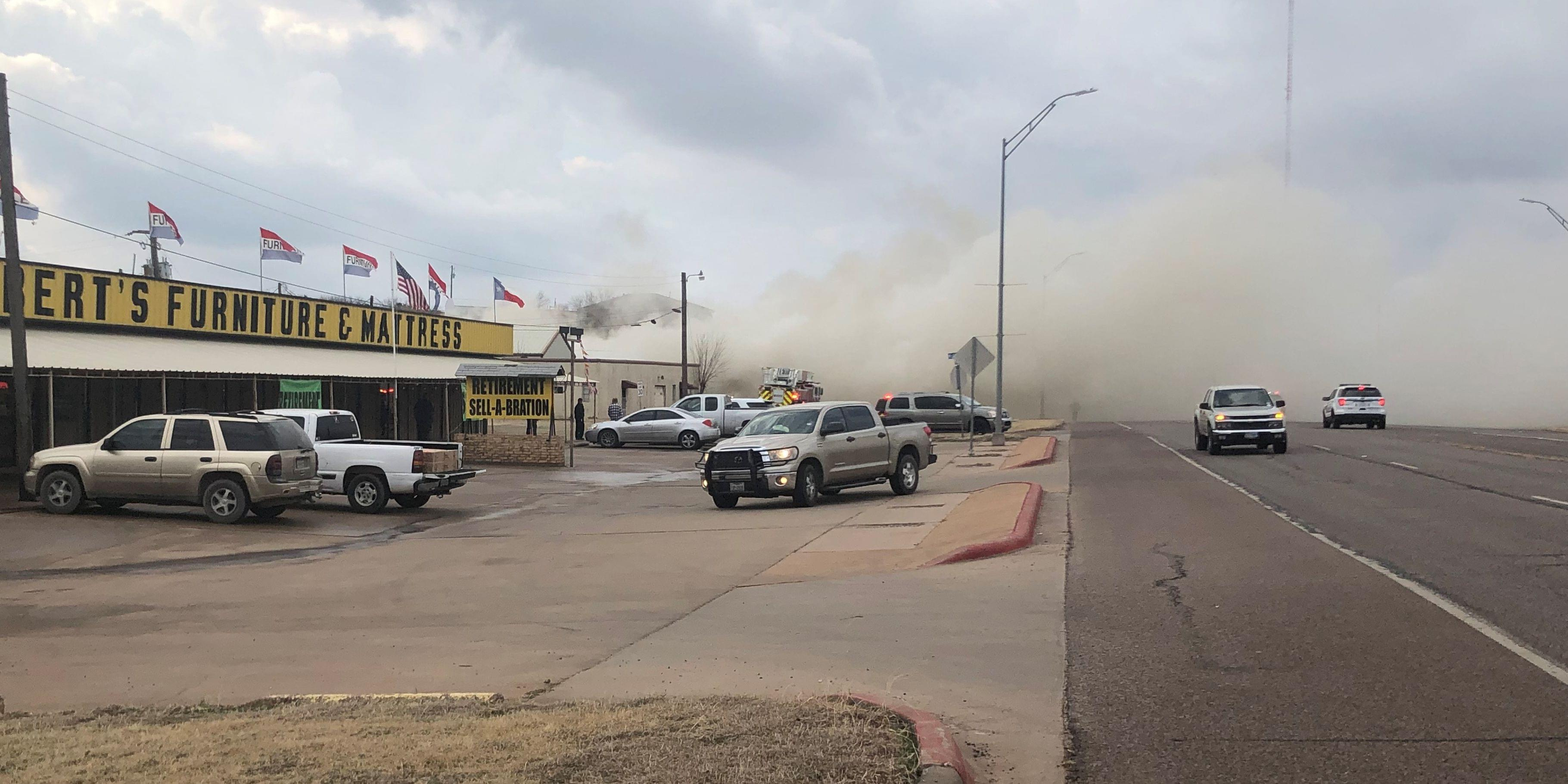 WFFD Battles Flames At Local Business
