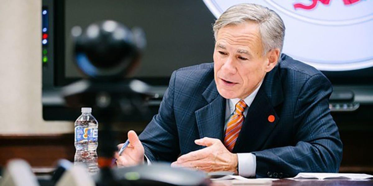 Governor Abbott Releases Video Message For Texans