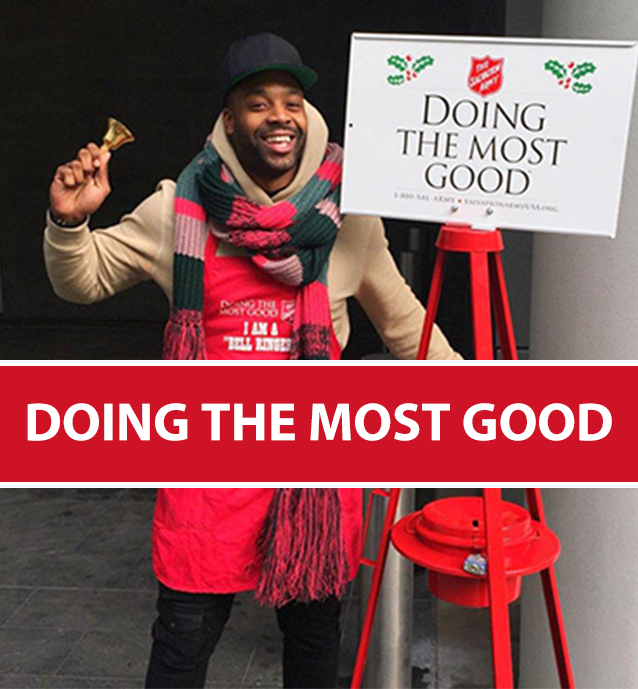 Salvation Army Bell Ringers Needed