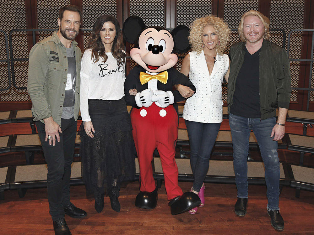 "Little Big Town Goes to Disney Resort to Kick Off Music in Our Schools Program—""Music Education Is a Right of Every Student,"" Says Karen Fairchild"