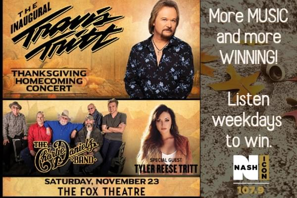 Thanksgiving Homecoming with Travis Tritt