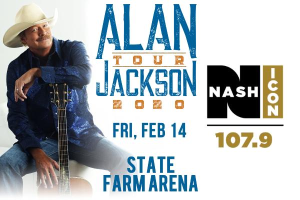 February 14th, Alan Jackson @ State Farm Arena