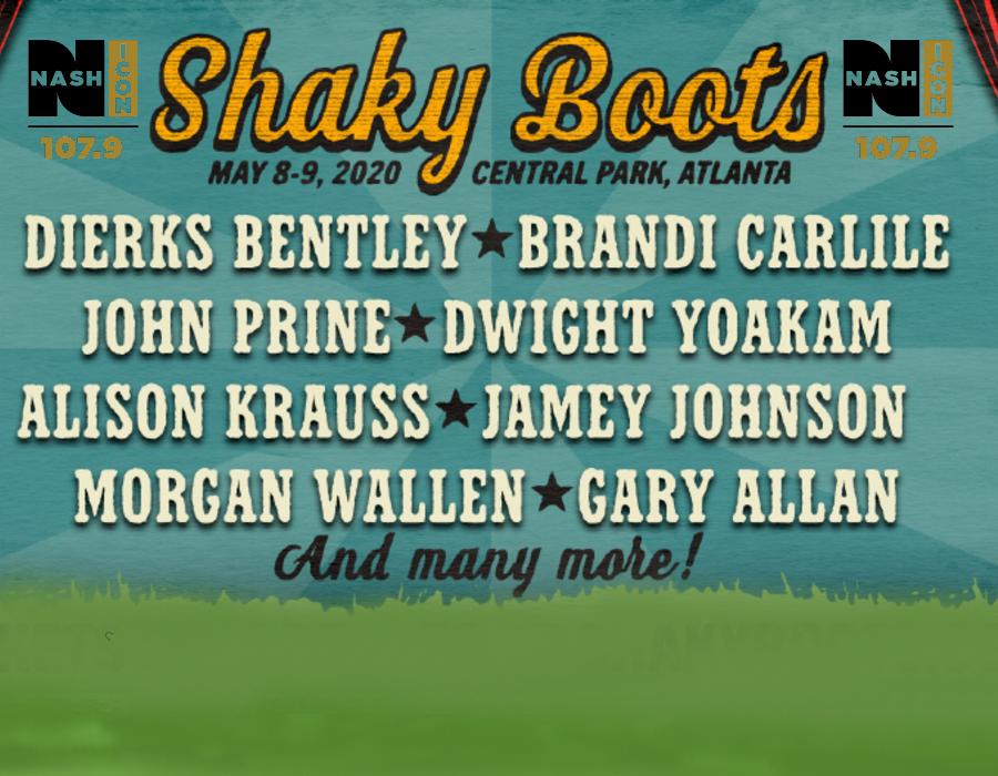 May 8-9, Shaky Boots @ Atlanta's Central Park