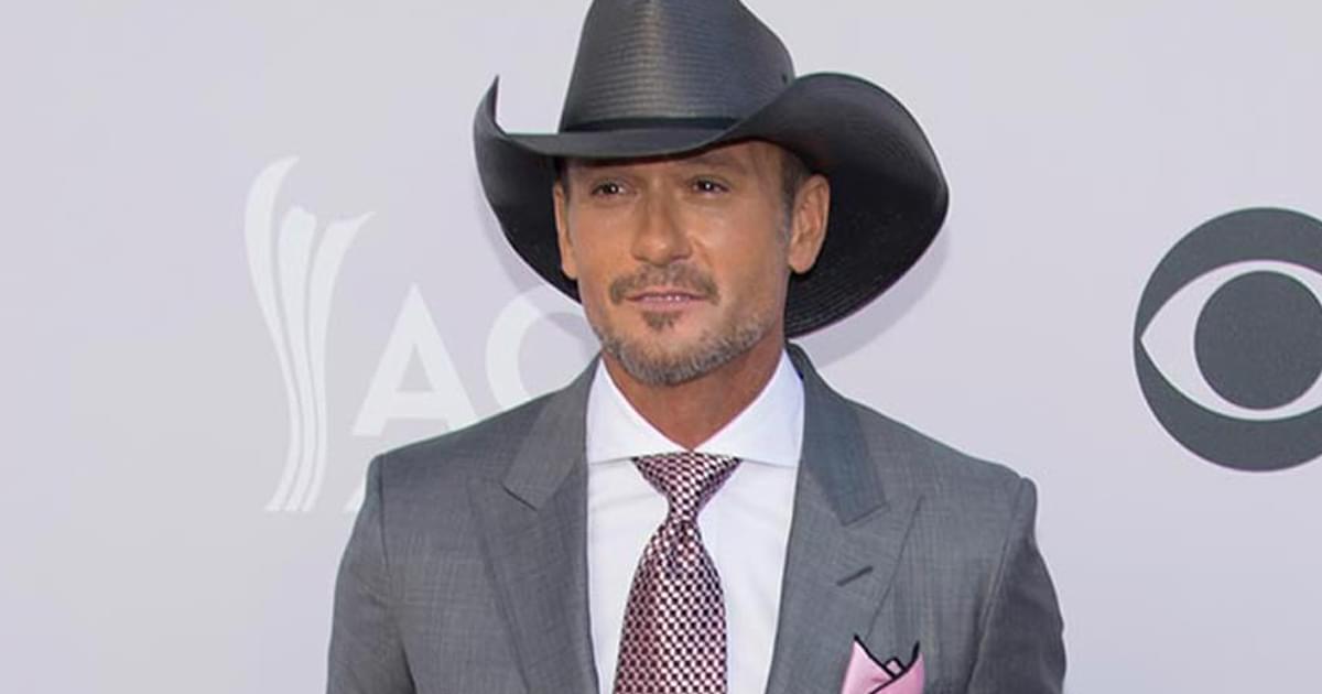 Tim McGraw Stays Out of the Kitchen On Turkey Day