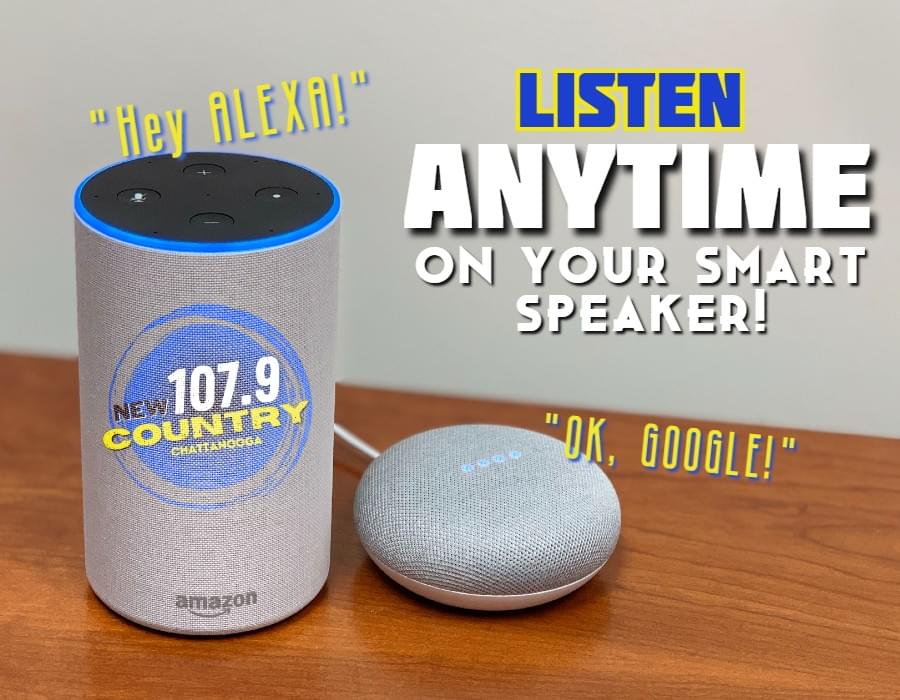 NEW COUNTRY ON YOUR SMART SPEAKER