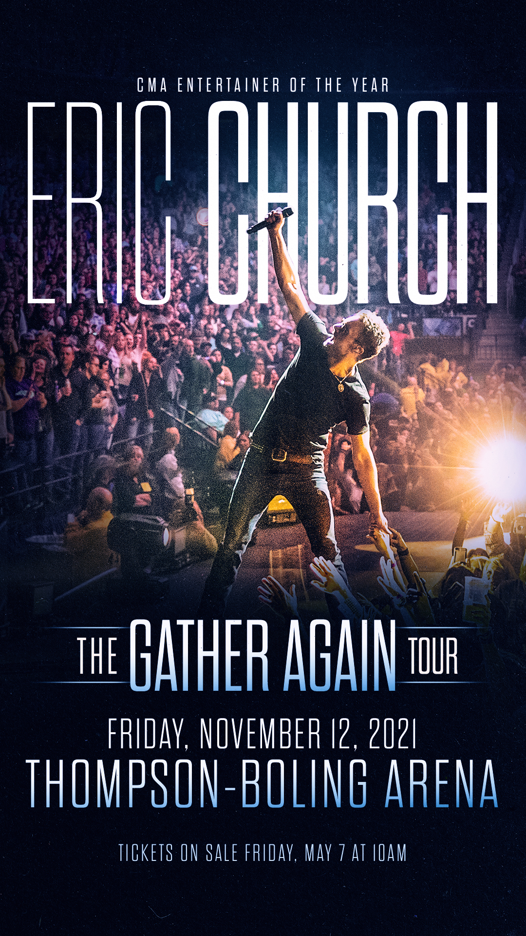Nov 12th, Eric Church @ Thompson Boling Arena