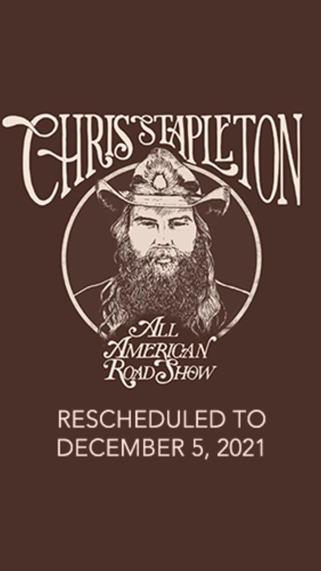 Dec 5th, Chris Stapleton @ Thompson Boling Arena