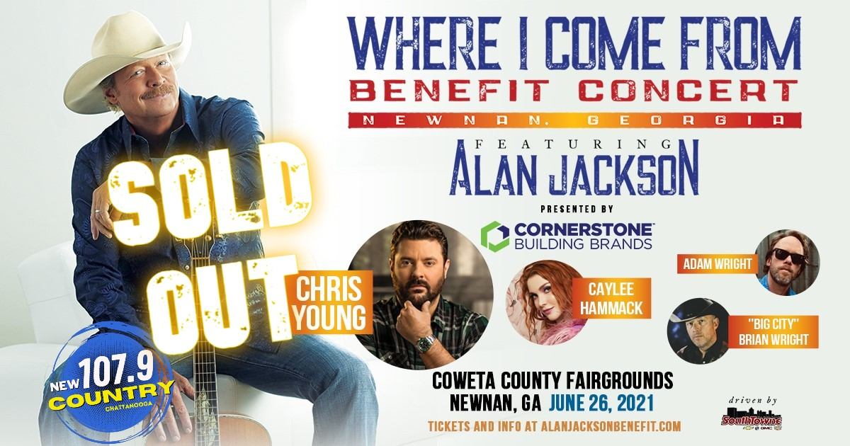 Where I Come From Benefit Concert