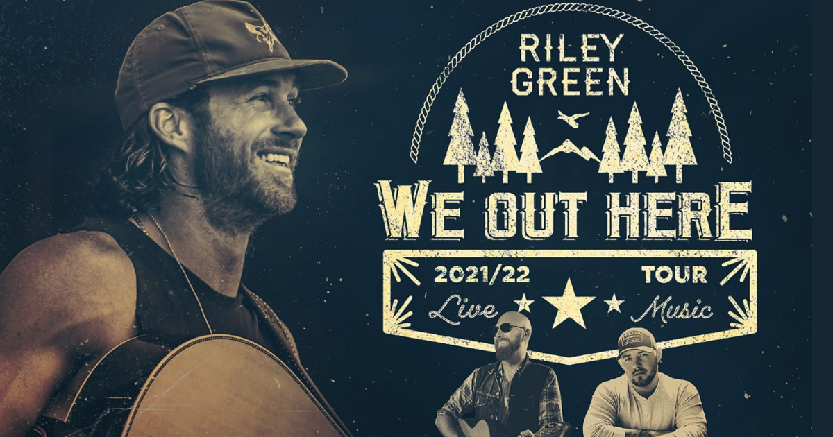 Riley Green, Corey Smith & Kameron Marlowe
