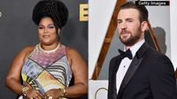 Lizzo Wants to Make Movies with Chris Evans