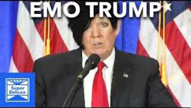 Donald J. Trump's speeches turned into an emo song.