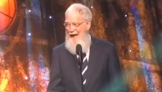 David Letterman is The Man