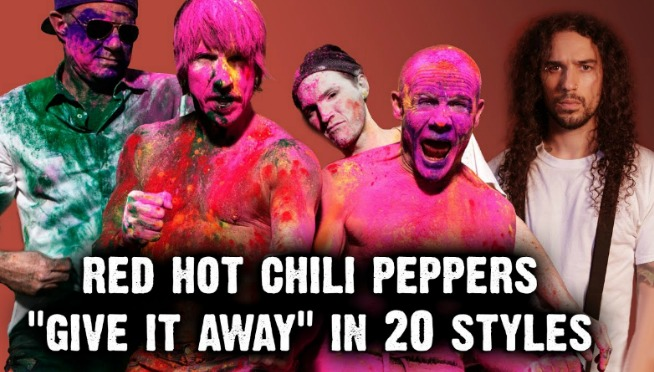 Red Hot Chili Peppers – Give It Away | Ten Second Songs 20 Style Cover