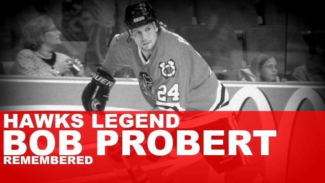 Hawks legend Bob Probert's ashes spread in penalty box