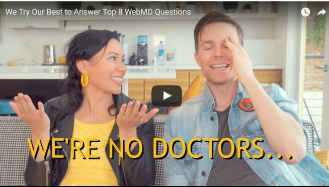 WATCH – Matt & Kim Try Their Best to Answer Top 8 WebMD Questions