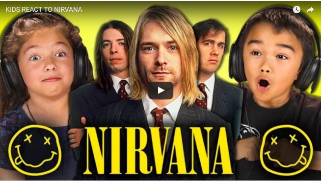 Kids React To Nirvana