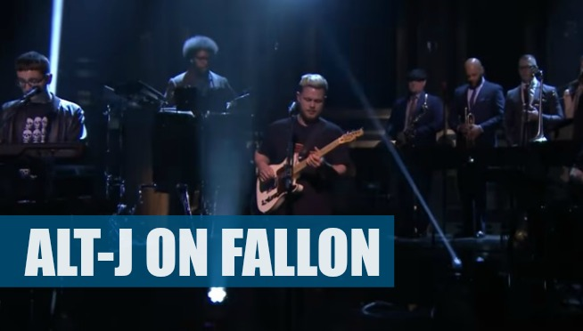 WATCH: ALT-J PERFORM COLD BLOOD ON FALLON