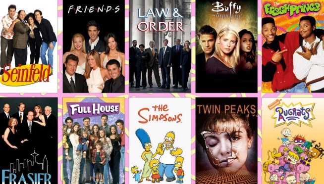 Write In The Font Of Your Favorite 90's TV Show