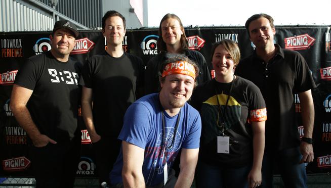 PIQNIQ 101WKQXperience: Meet & Greet with Jimmy Eat World
