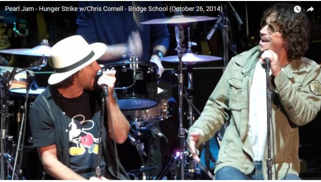 Chris Cornell, Eddie Vedder's Final 'Hunger Strike' Duet