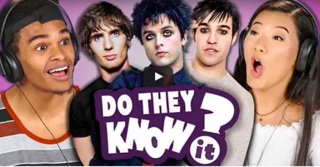 WATCH: Teens Attempt To Guess Classic Pop Punk Song Titles