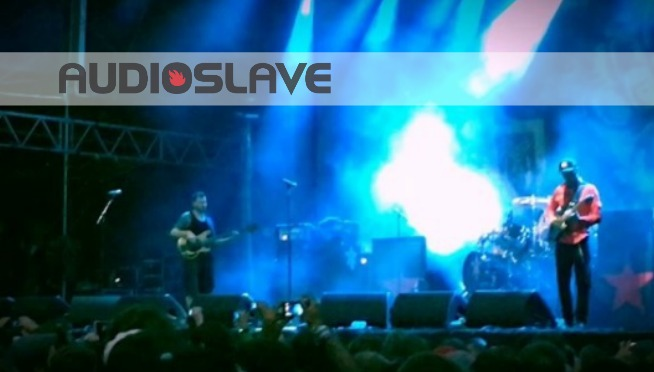 """WATCH: Audioslave Performs """"Like A Stone"""" W/ Audience Singing Vocals"""