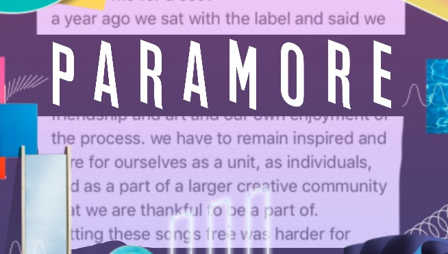 Hayley Williams Note About New Paramore Album