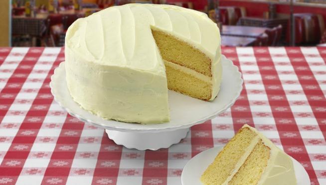Portillo's lemon cake appeared on 'Jimmy Kimmel Live!